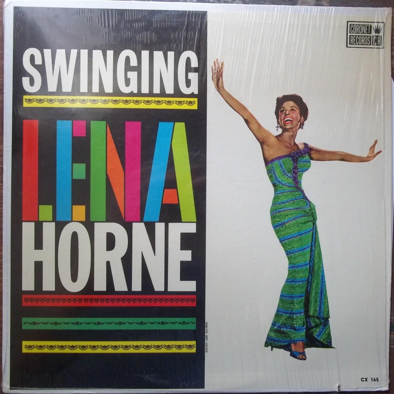 Lena Horne Swinging Vintage Record Album Vinyl Lp American