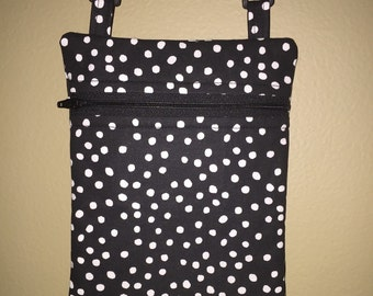 "Small 6"" x 8"" Crossbody Purse with Adjustable Strap"