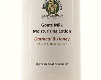 Lotion, Oatmeal Lotion, Goat Milk Lotion, Honey Lotion, Oatmeal & Honey lotion