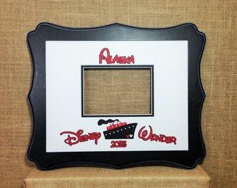 Disney Cruise Autograph Book Idea Photo Mat Signature Matte
