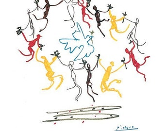 Pablo Picasso Dance Of Youth La Ronde 22 x 28 poster print