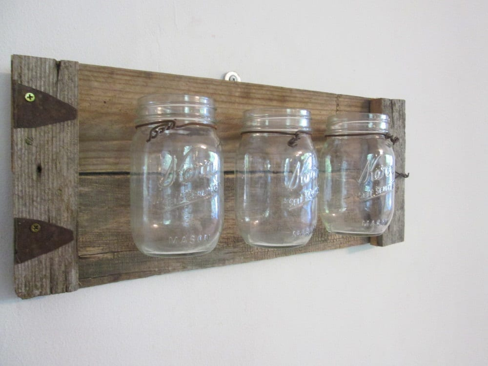 Wall Decor With Mason Jars : Mason jar wall decor