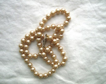 Faux Pearl Necklace -- 88