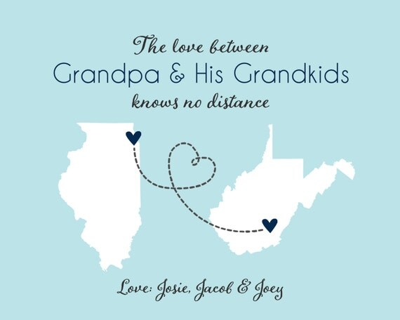 Father's Day Gift for Grandpa Papa Poppy Grandfather