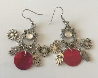 Dangle chandelier earings