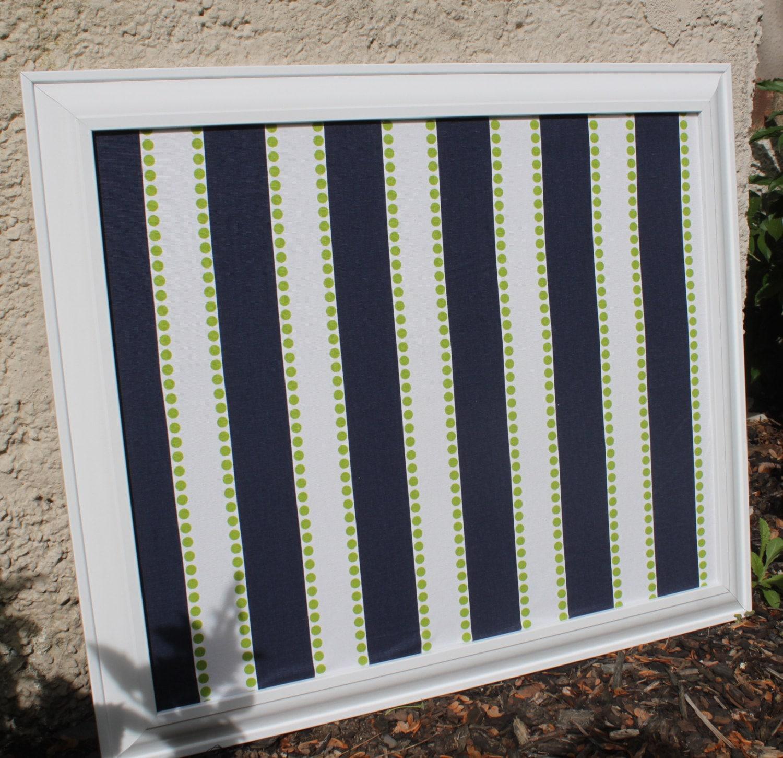 Framed Cork Board Or Framed Magnet Board By Designsbyemmapaige