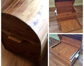 Dome shaped Antique Cedar Chest to be Stained/Painted