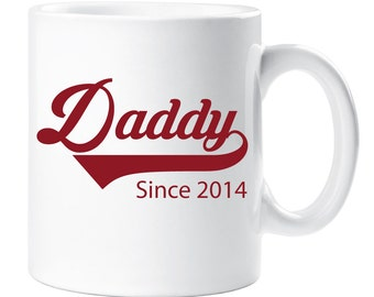 Personalised Daddy Mug Since Fathers Day Present Gift Idea Christmas Birthday Personalized