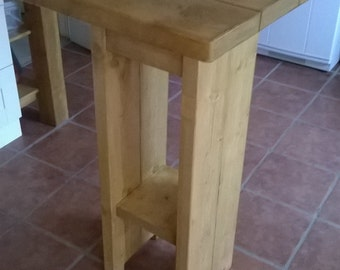 New Rustic Cafe Style Breakfast Bar Table/Kitchen Table 039