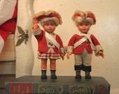 Vintage American Revolution Patriotic Dolls