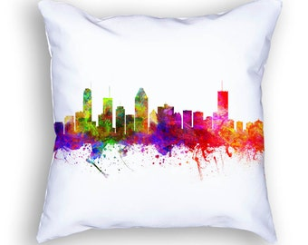 Montreal Pillow, Montreal Quebec, Montreal Canada, Montreal Skyline, 18x18, Cushion, Home Decor, Gift Idea,  CAQCMO02PI