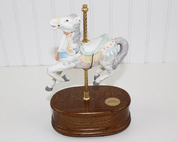 willitts carousel horse music box 3