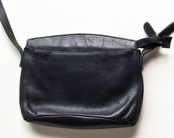 Vintage Leather Crossbody Purse Liz Claiborne