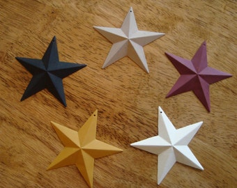 "Rustic Stars 3.5""or 2.25"""