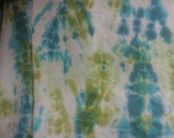 All tied up: custom hand dyed linen shibori panels, your choice of colors