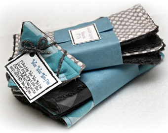 Ships FREE!  Build your own - Baby Boy Gift Bundle -Washcloths, Burp Cloths & Wee Wee Tee-Pees; Baby boy shower gift