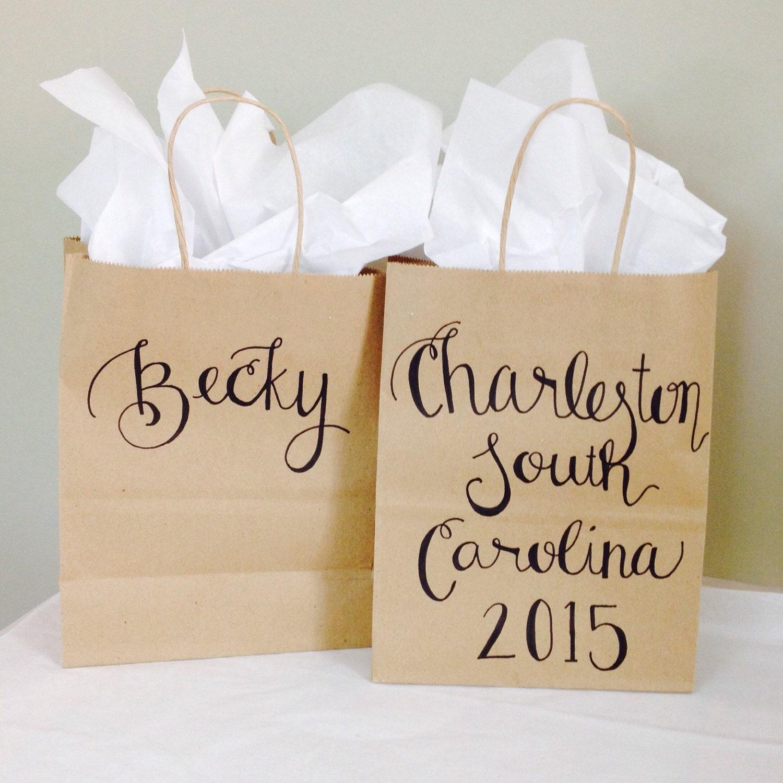 bridesmaid gift bag bridal party gift bag bachelorette. Black Bedroom Furniture Sets. Home Design Ideas