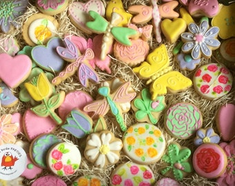 Pretty Pastel Sugar Cookies