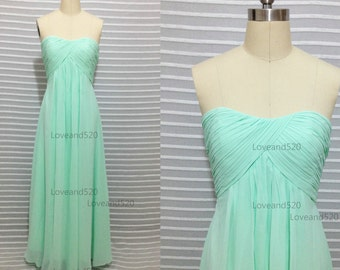 Mint Maternity Formal dress,Mother of the Bride Dress,Maternity dress,cheap bridesmaid dress chiffon dresses 2015 New Arrive