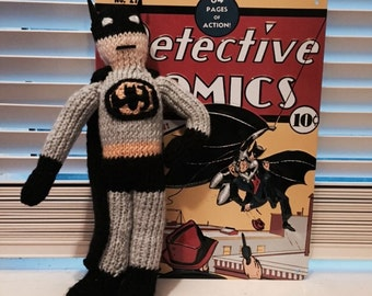 Knitted Batman! (Medium)