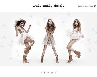 Complete E-commerce Shopify Website Design eCommerce Custom Website Design Package inc. Facebook Storefront Boutique Website Shopping Cart