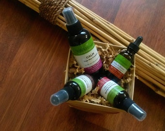 Aromatherapy Gift Set.  Organic Gift Basket. Customize Yours!