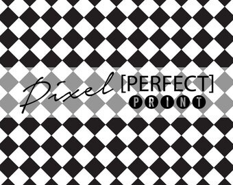 "3ft x 3ft ""Racing Checkers"" Vinyl Backdrop // Vinyl Backdrops // Vinyl Photography Backdrop // Black & White Painted Backdrops (PP356)"