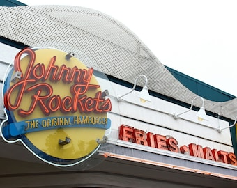 Photograph - Metallic Print - Johnny Rockets