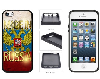 Made In Russia Phone Case - iPhone 4 4s 5 5s 5c 6 6 Plus 7 iPod Touch