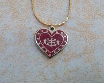 Baha'i charm pendant from Haifa,Bahai jewelry