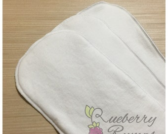 Bamboo/Organic Cotton Cloth Diaper Inserts