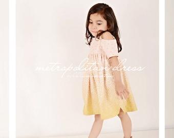 Metropolitan dress pdf pattern size 18m-8