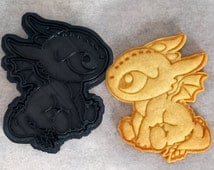 How To Train Your Dragon - Baby Toothless Cookie Cutter