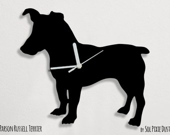 Parson Russell Terrier Dog - Wall Clock