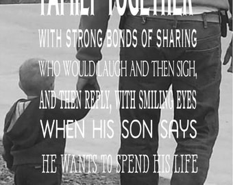 Father's Day - God Made Farmer Somebody to Bale Family Together Paul Harvey Wood Sign Canvas Wall Art - Custom Photo - Christmas, FFA