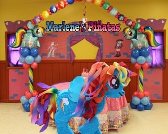 My little pony pinata, rainbow dash.!