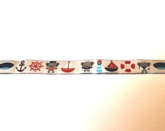 Woven Ribbon marine, maritime