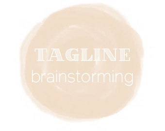 Writing Services: SLOGAN or TAGLINE