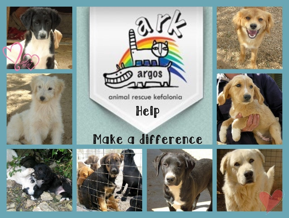 Animal Shelter Pillow Donation : Donation for the Animal Rescue Kefalonia shelter in Greece