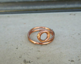 """Copper Ring """"Looking Glass Ring"""""""