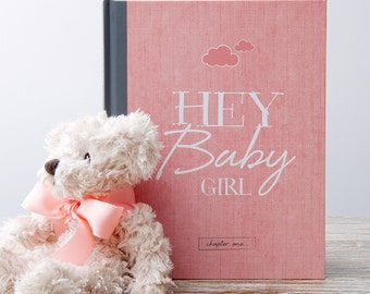 Baby Record Book and Journal for Girls