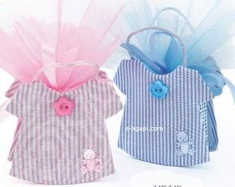 Rattan baby boy favors bags baptism Bomboniere baby girl christening favors Baby shower favors idea greek Bombonieres baptism favors 10 pc