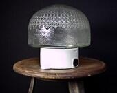 Bath lamp lamp table lamp porcelain lamp base lamp 70s Art Deco