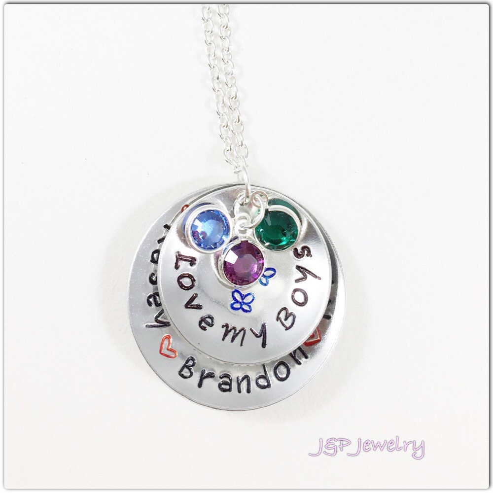 children birthstone jewelry personalized s necklace gift 8881