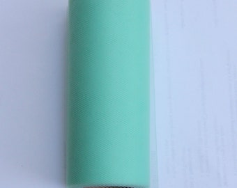 Mint tulle roll - 25 yd - Mint tulle spool 25 yd - 6 x 25 yard tulle spool - tulle for tutus - mint tulle roll
