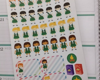 Girl Scout Stickers