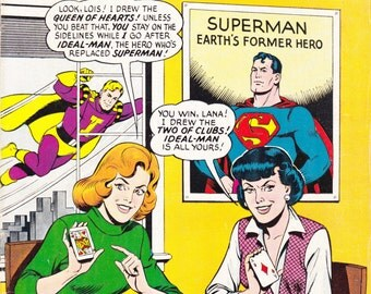 Superman 's Girl Friend Lois Lane 1965 comic book issue # 56 from DC Comics with Saturn Girl / Legion of Super-Heroes appearance
