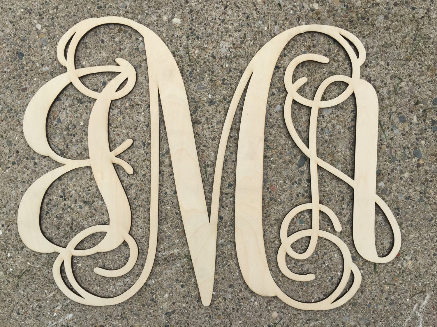 Https Etsy Com Listing 238890865 Fast Shipping Wood Monogram Home Decor Ref Shop Home Active 1