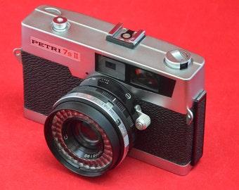 Petri 7s II with 50 mm f 2.8