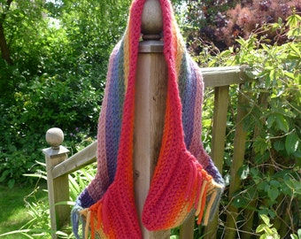 Rainbow Scarf (pocket)